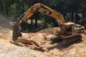 Excavator Cat 320 - 2 Central Coast Piling